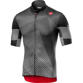 Castelli Mid Weight Shortsleeve Jersey Herr dark gray